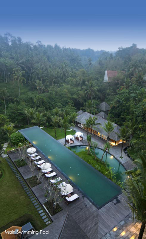 A luxury hotel in ubud bali komaneka resorts for Top hotels in ubud bali