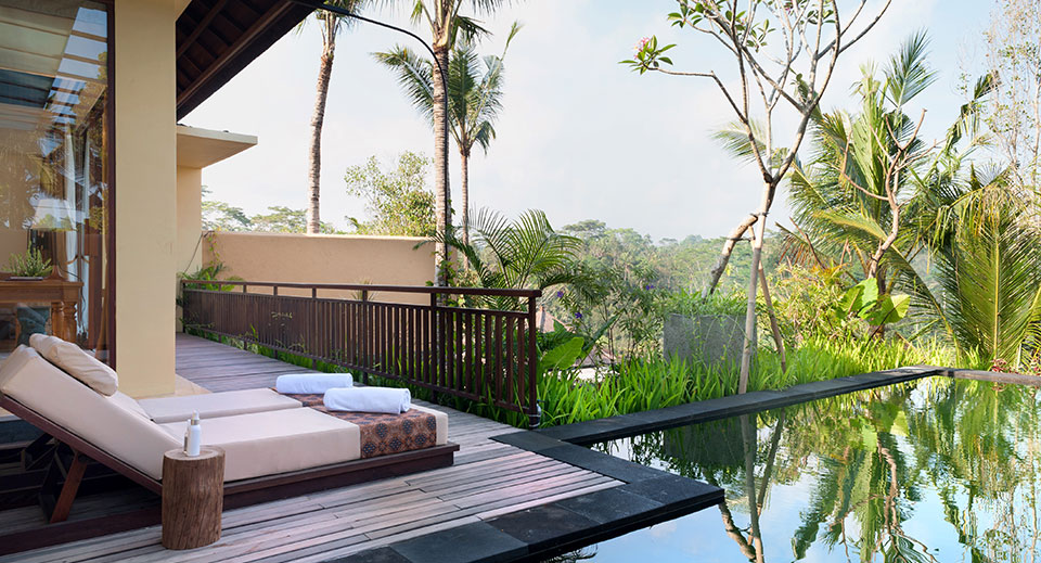 Komaneka at tanggayuda ubud bali hotels resort spa for Garden pool villa ubud village resort